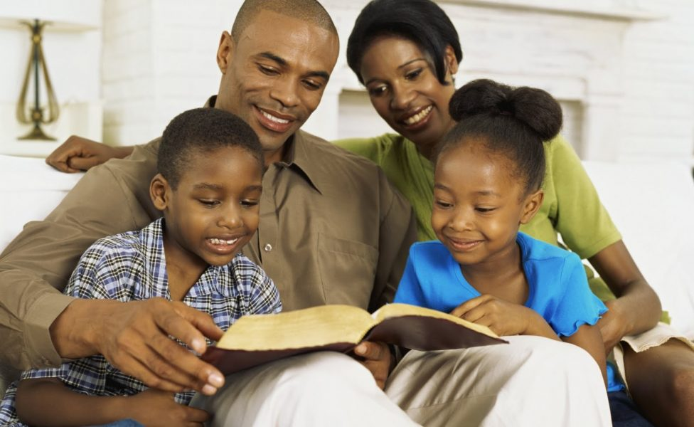black christian family