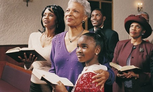 black-family-in-church
