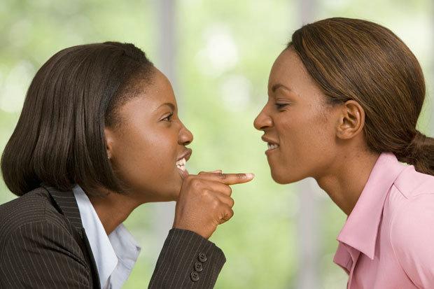 arguing friends