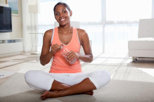 black-woman-exercising
