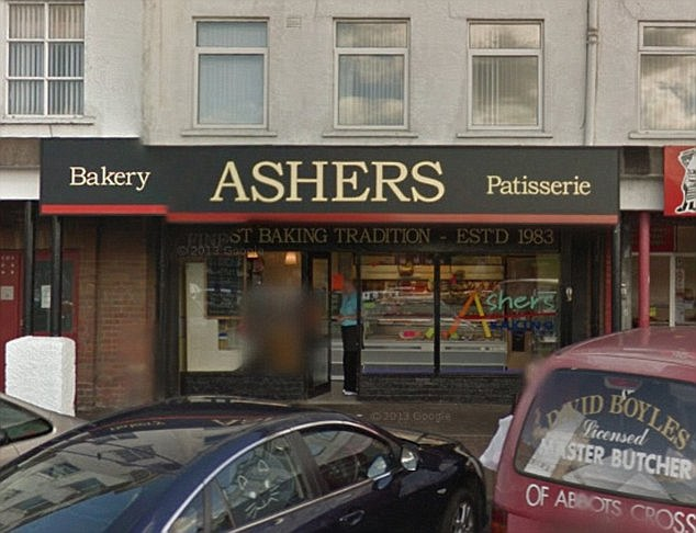 Ashers Baking Company  Belfast  Credit: google street view