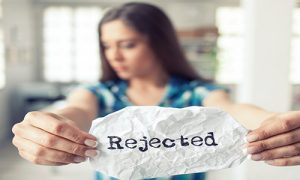women and rejection