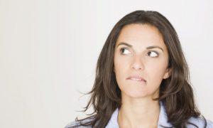 woman talking to god