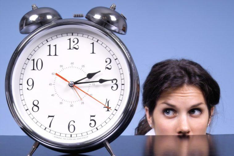 Staring at Clock