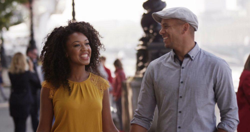 black couple marriage goals